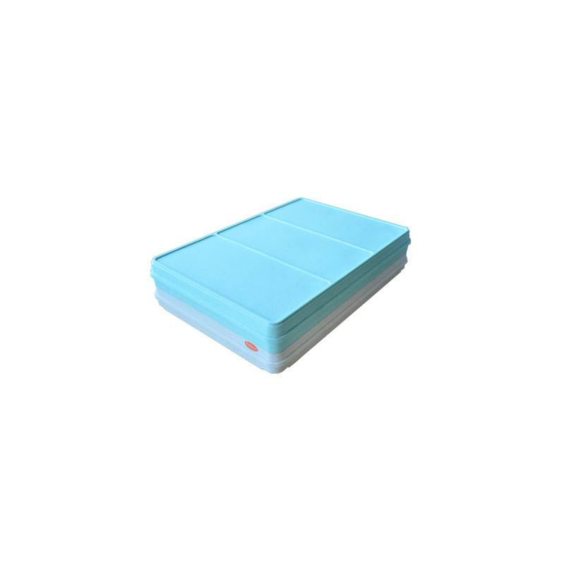 Plateau Repas Isotherme Bleu et Beige